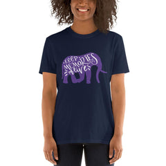 Keep Memories Alive Women T-Shirt MatchingStyle.com Navy S