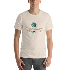 Legendary Men's T-Shirt MatchingStyle.com Soft Cream S