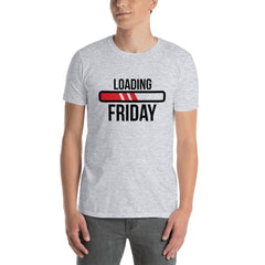 Loading Friday Men's T-Shirt MatchingStyle.com Sport Grey S