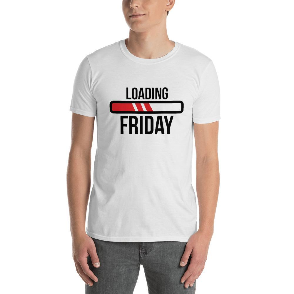 Loading Friday Men's T-Shirt MatchingStyle.com White S