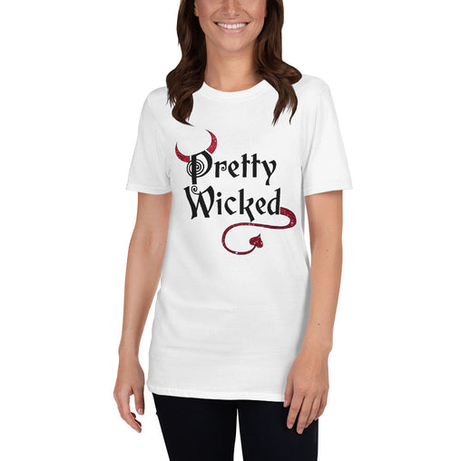 Pretty Wicked Halloween Women's T-Shirt