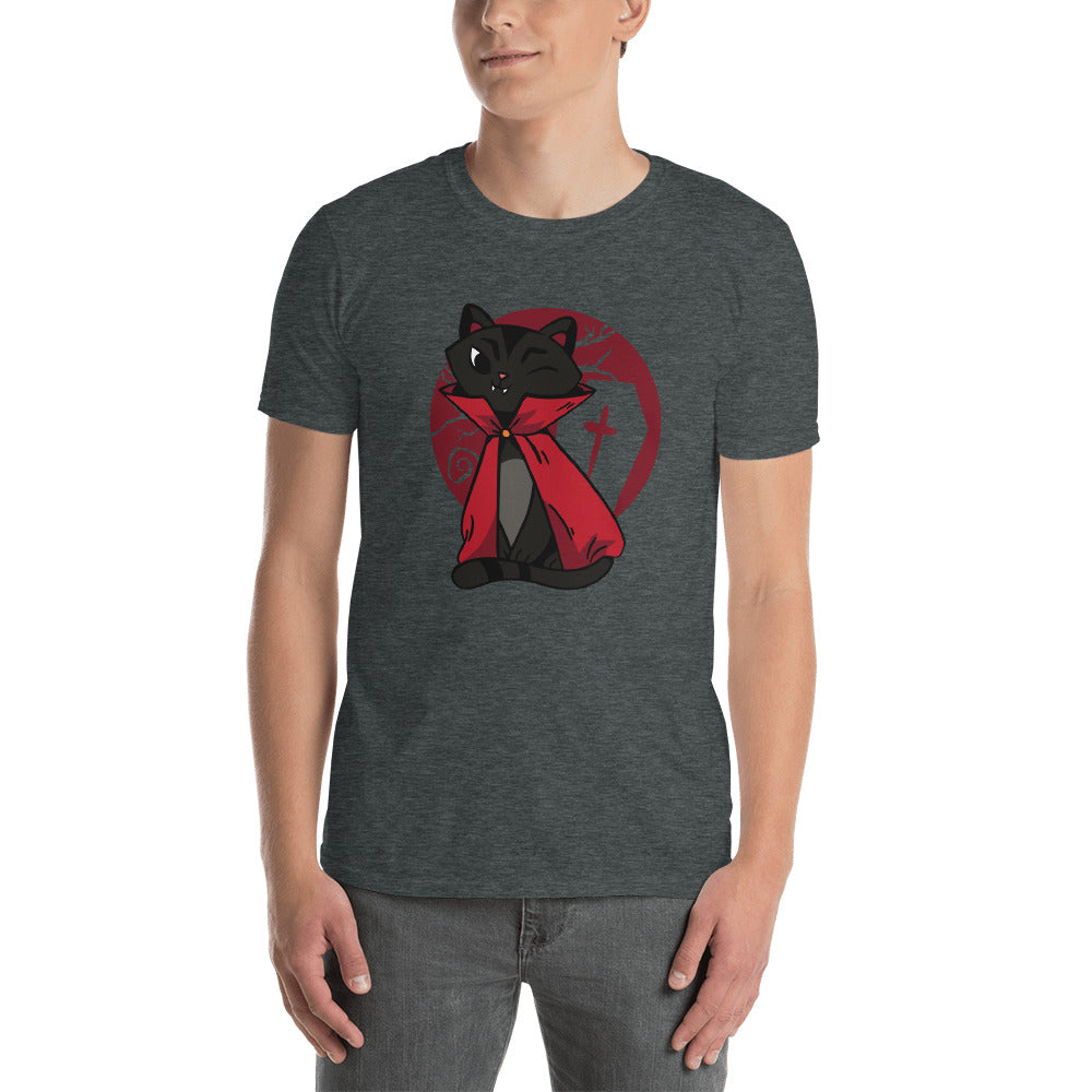 Vampire Cat Men's T-Shirt