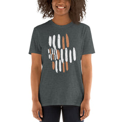 Abstract Brush Strokes Women's T-Shirt
