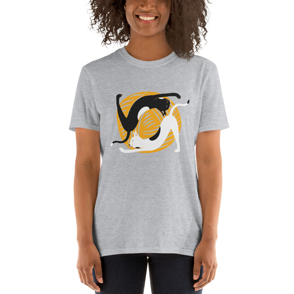 Cat Yoga Women's T-Shirt