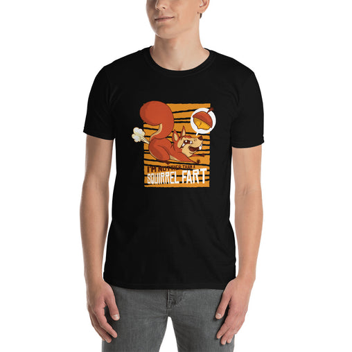 Squirrel Fart Funny Men's T-Shirt