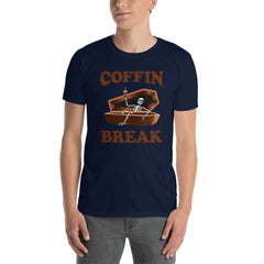 Coffin Break Funny Men's T-Shirt