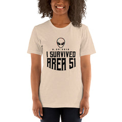I Survived Area 51 Mania Women's T-Shirt