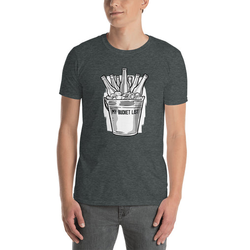 Beer Bucket List Men's T-Shirt