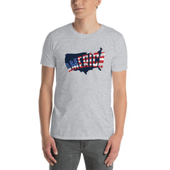 America Map Men's T-Shirt