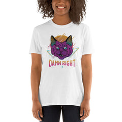 Neon Cat Women's T-Shirt