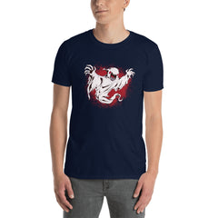 Creepy Ghost Men's T-Shirt
