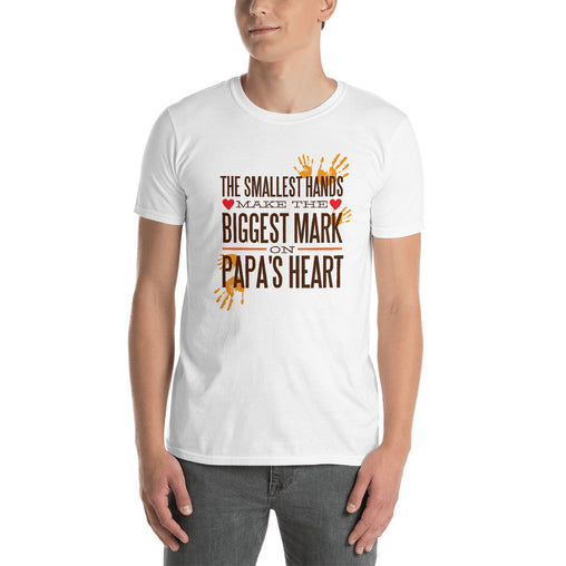 Papa's Heart Men's T-Shirt