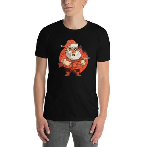 Hunting Santa Men's T-Shirt