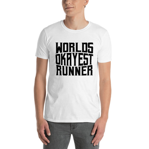 World Okayest Runner Men's T-Shirt