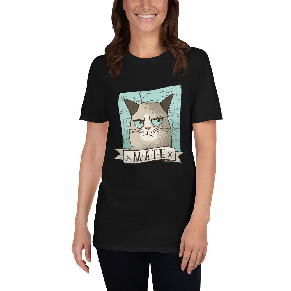 Grumpy Cat Math T-Shirt For Women