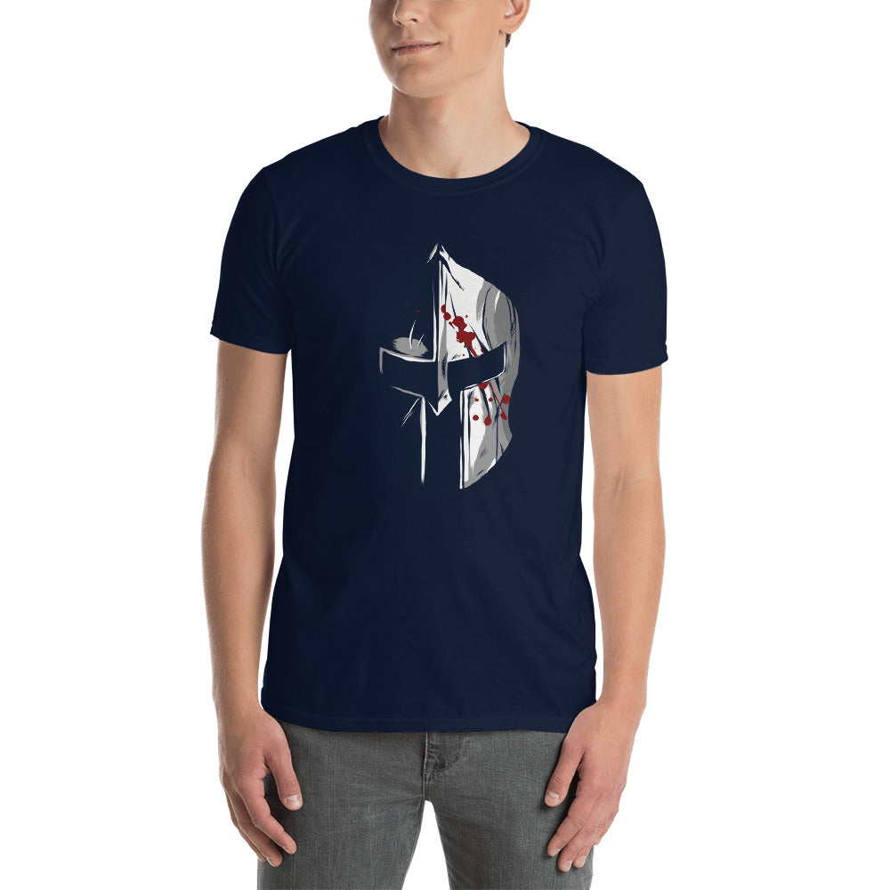 Bloody War Helmet Men's T-Shirt