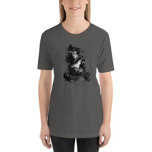 Black Cat Halloween Women's T-Shirt