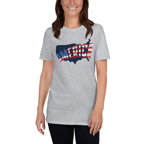 America Map Women's T-Shirt