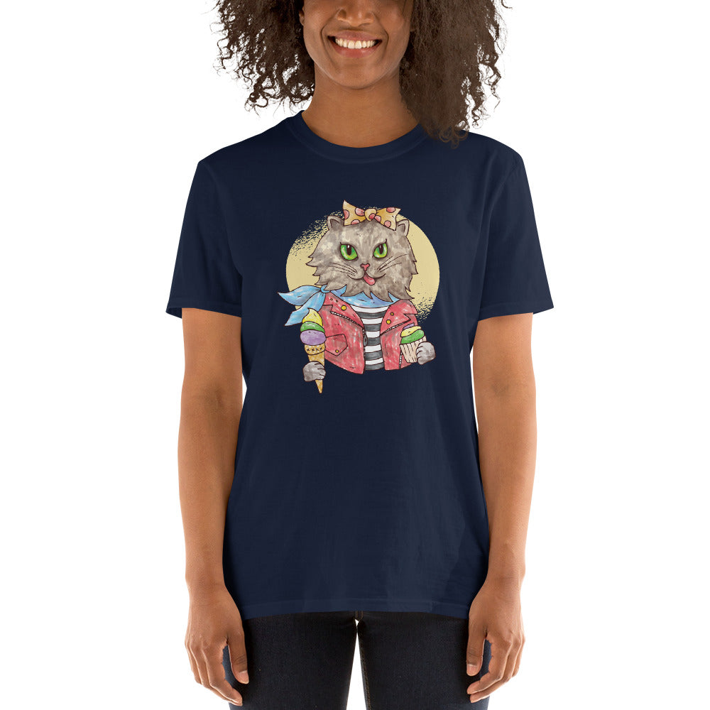 Rockabilly Cat Women's T-Shirt