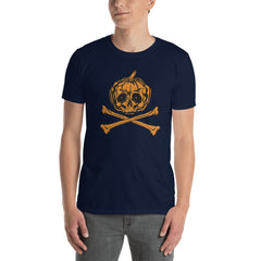 Pumpkin Skull Men's T-Shirt