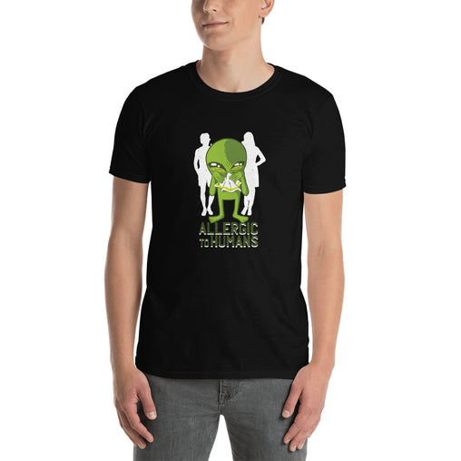 Allergic To Humans Men's T-Shirt