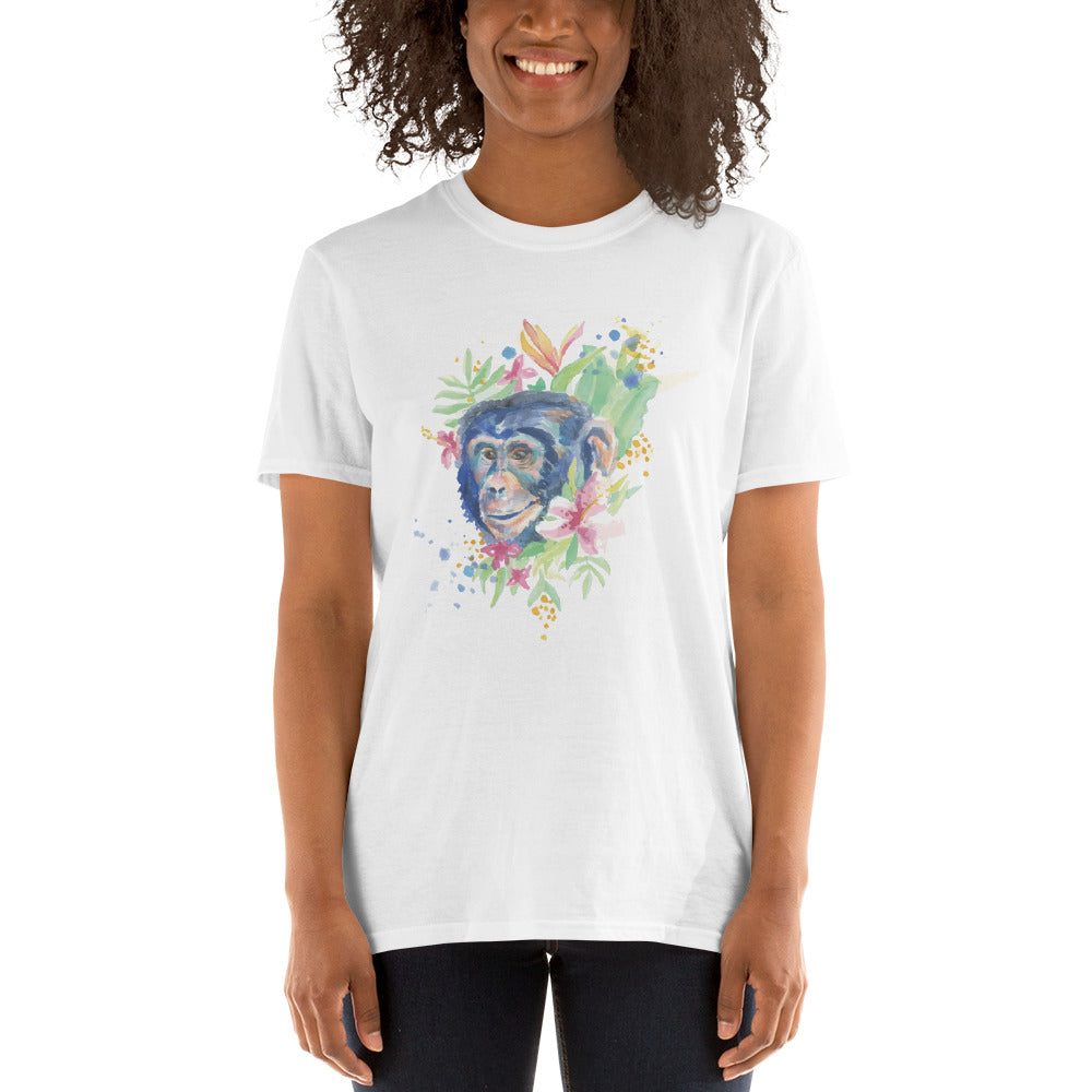Cute Monkey Women's T-Shirt