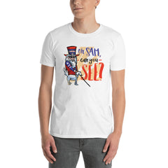 Funny Uncle Sam Men's T-Shirt