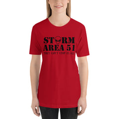 Storm Area 51. They Can't Stop Us All Women's T-Shirt