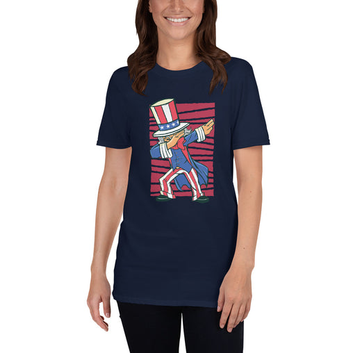 Dabbing Uncle Sam Women's T-Shirt