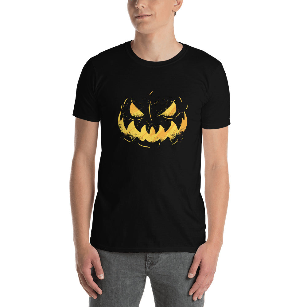 Jack O'Lantern face Men's T-Shirt