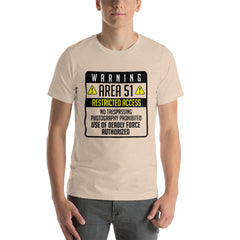 Area 51 Is Restricted For All Men's T-Shirt