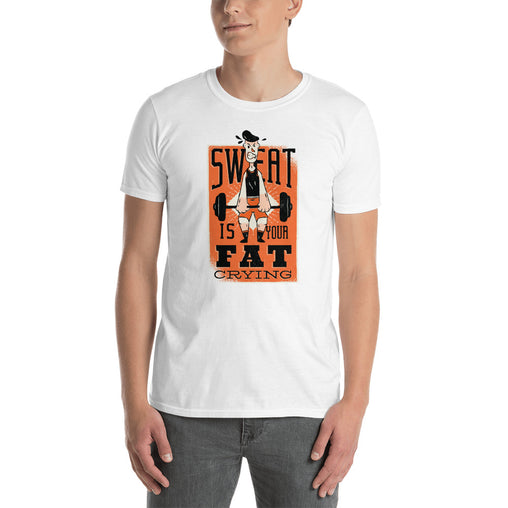 Weight Lifting Funny Men's T-Shirt