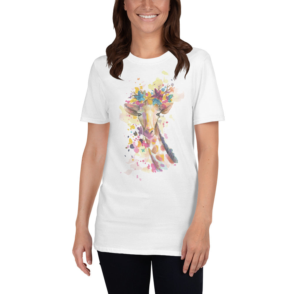 Cute Giraffe Women's T-Shirt
