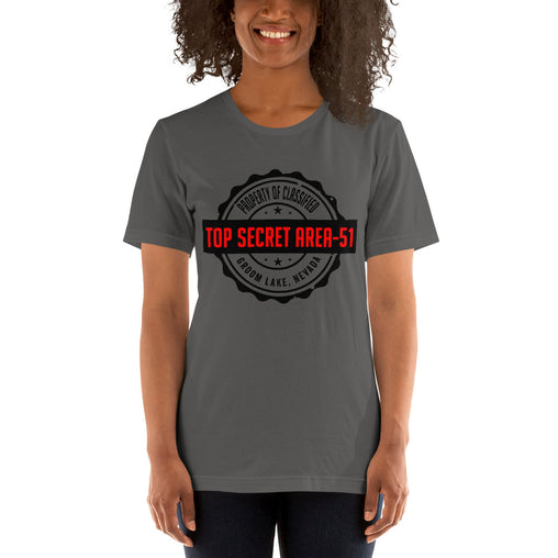 Top Secret Area 51 Groom Lake Nevada Women's T-Shirt