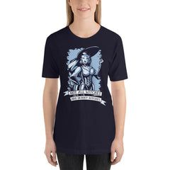 Not All Witches Are Skinny Bitches Women's T-Shirt MatchingStyle.com Navy S