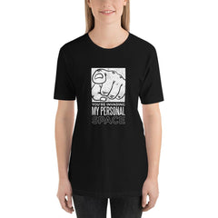 Personal Space Women's T-Shirt MatchingStyle.com Black S