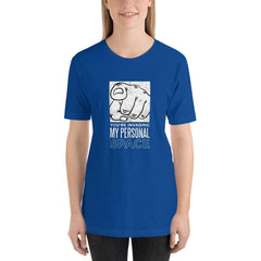 Personal Space Women's T-Shirt MatchingStyle.com True Royal S