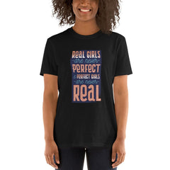 Real Funny Girls Party Women's T-Shirt MatchingStyle.com Black S