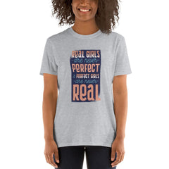 Real Funny Girls Party Women's T-Shirt MatchingStyle.com Sport Grey S