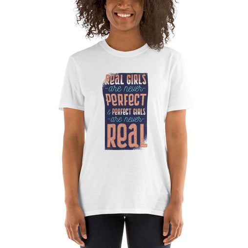 Real Funny Girls Party Women's T-Shirt MatchingStyle.com White S