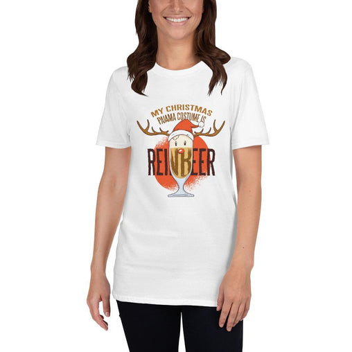 Reindeer Beer Women's T-Shirt MatchingStyle.com White S