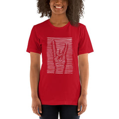 Rock N Roll Women's T-Shirt MatchingStyle.com Red S