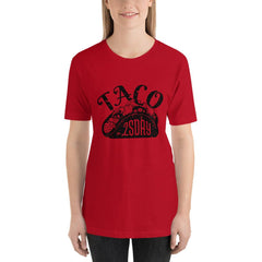 Taco Tuesday Women's T-Shirt MatchingStyle.com Red S
