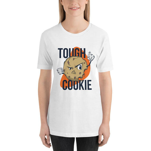 Tough Cookies Women's T-Shirt MatchingStyle.com White S