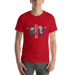 Trump Peace Men's T-Shirt MatchingStyle.com Red S