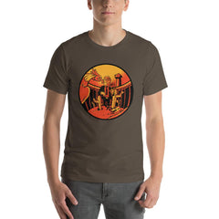 Trump Wall Men's T-Shirt MatchingStyle.com Army S