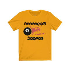 Billiard Maniac Short Sleeve Tee - Sportifiers.com