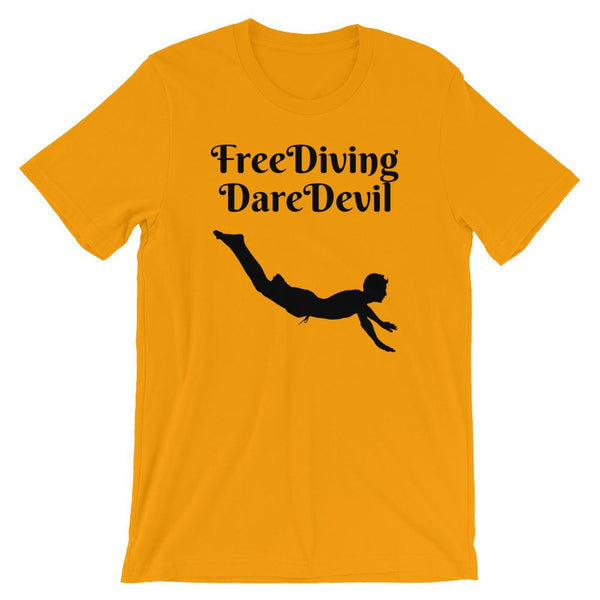 Free Diving Short-Sleeve Unisex T-Shirt - Sportifiers.com