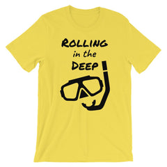 Rolling in the Deep Short-Sleeve Unisex T-Shirt - Sportifiers.com