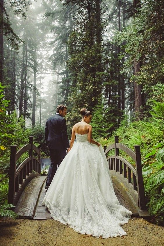 woodland forest wedding